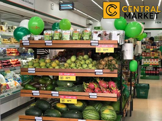 Chính thức khai trương tttm central market