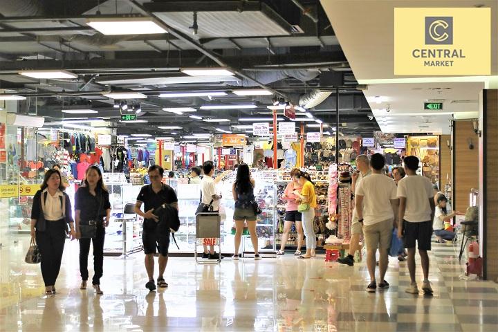 Tha hồ lựa chọn mọi món đồ ở TAKA Plaza - khu mua sắm tại trung tâm thương mại Central Market