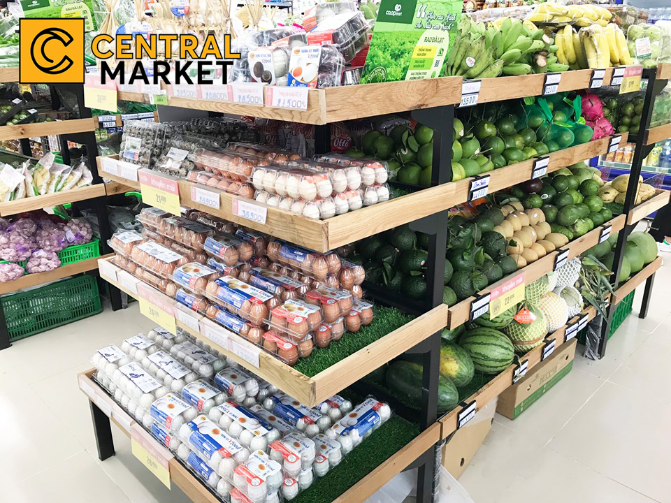 Siêu thị Co.op Food - cung cấp thực phẩm thiết yếu cho khách hàng tại quận 1